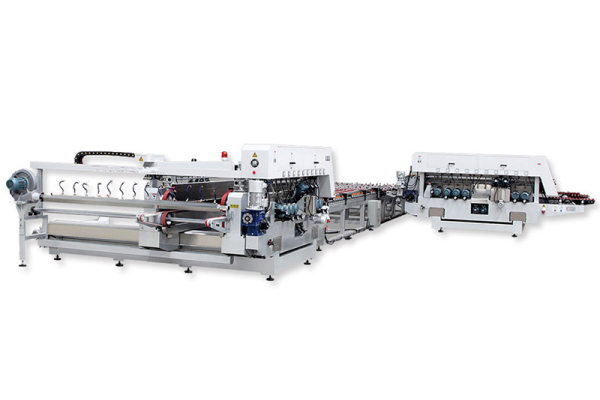 L-type Glass straight-line double edging product line